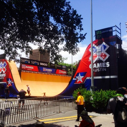 Josh Bolinger at the X Games